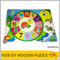 Early learning diy wooden jigsaw puzzle toys for sale OC0226705