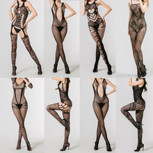 High elastic snagging resistance sexy girl nylon bodystocking