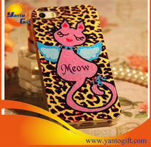 hot sell TPU case for iphone5/5s/4s fashion cartoon cat design