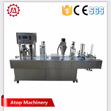 cheap small coffee capsule filling machine k cup filling sealing machine