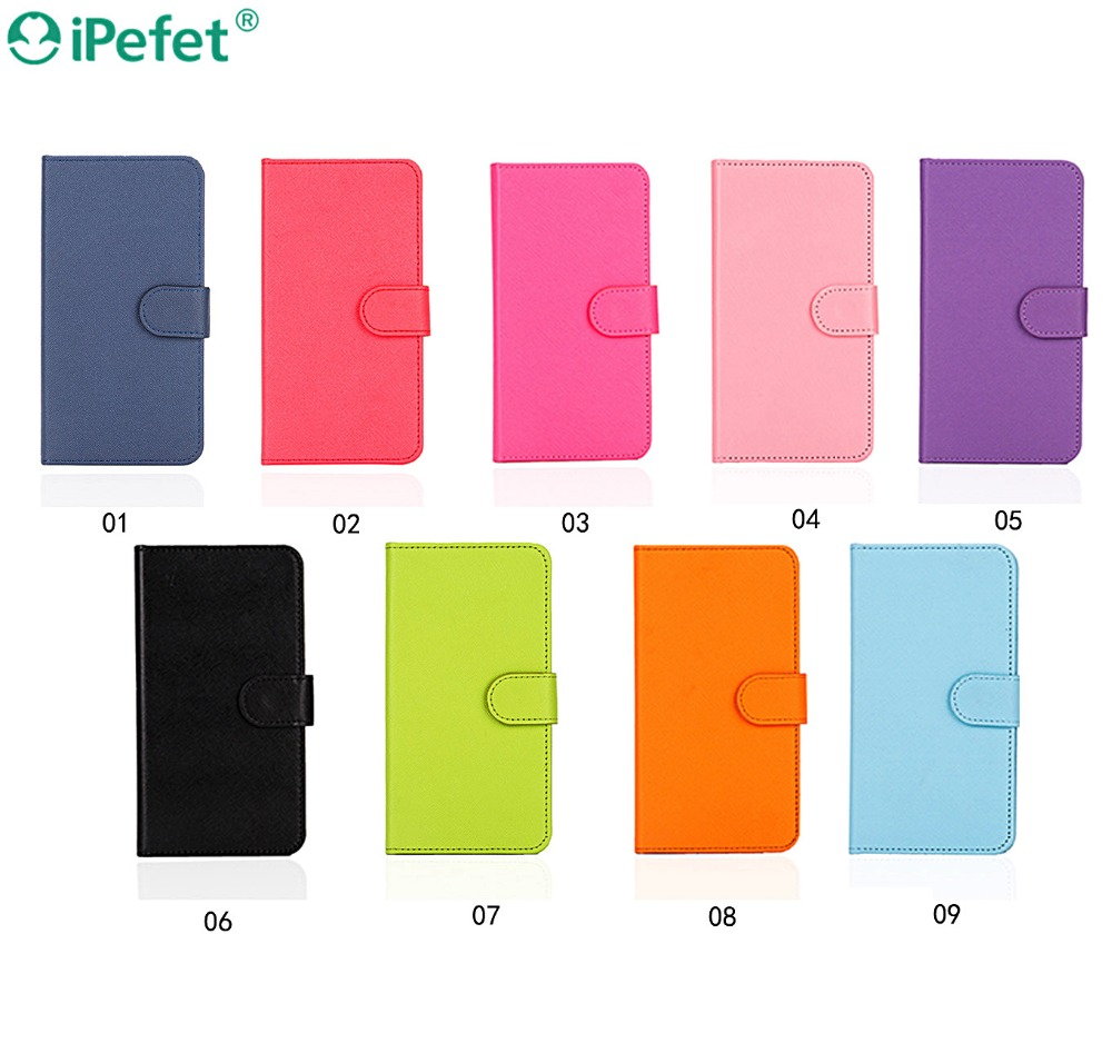 Premium Universal PU wallet leather case for gionee S6