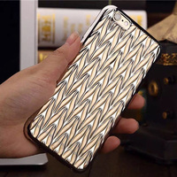 guangzhou wholesaler ultra thin electroplated tpu case fancy mobile back covers for iphone6 plus