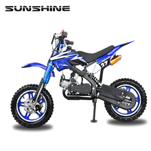 Cheap used street legal 800w 36v electric 2 stroke kids dirt bike