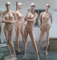 OEM free Fashion realistic female mannequin for clothes display