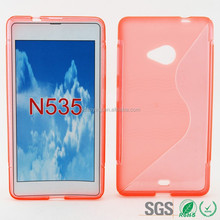 wholesale price s line tpu silicone gel case for Nokia 535
