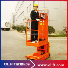 Hot sale Olift order picker jobs north york with electric lifting with certificate CE