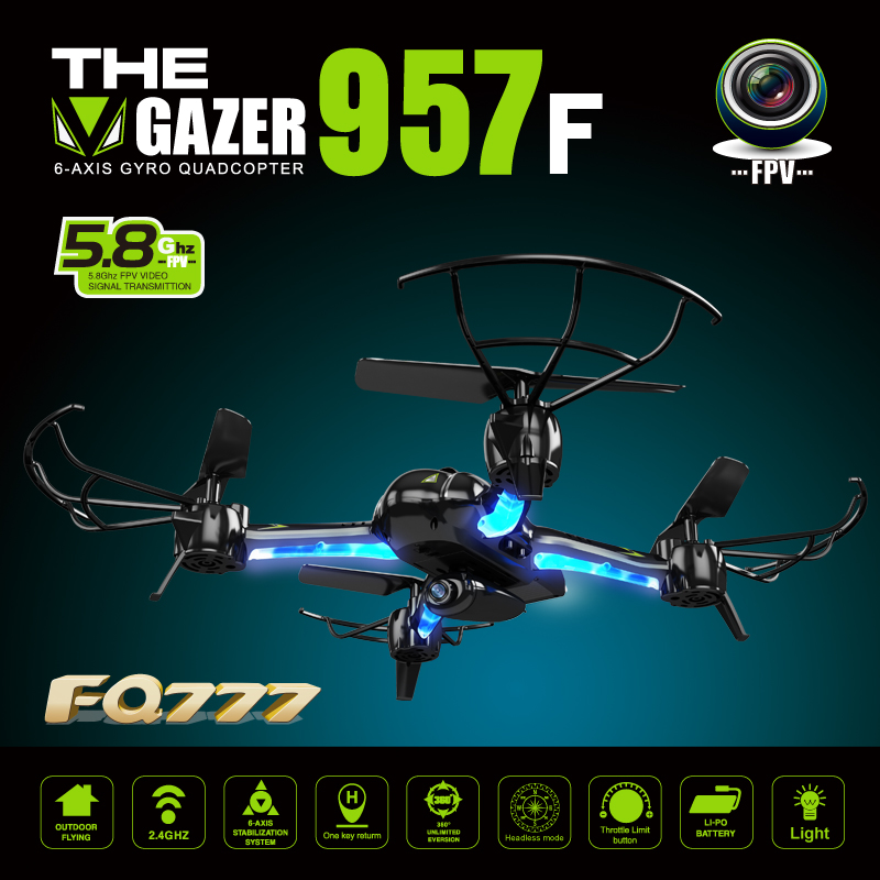 FQ777 5.8G lark fpv rc drone 4 CH 6 asis gyro FPV helicopter