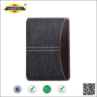 Denim Fabric Cover for Ipad AIir for Ipad Mini flip Leather Case for Apple Ipad