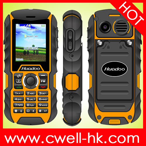 High Quality Rugged Mobile Phone Huadoo H1 2.0 Inch OGS Screen IP68 Waterproof Phone with 2000mah big battery
