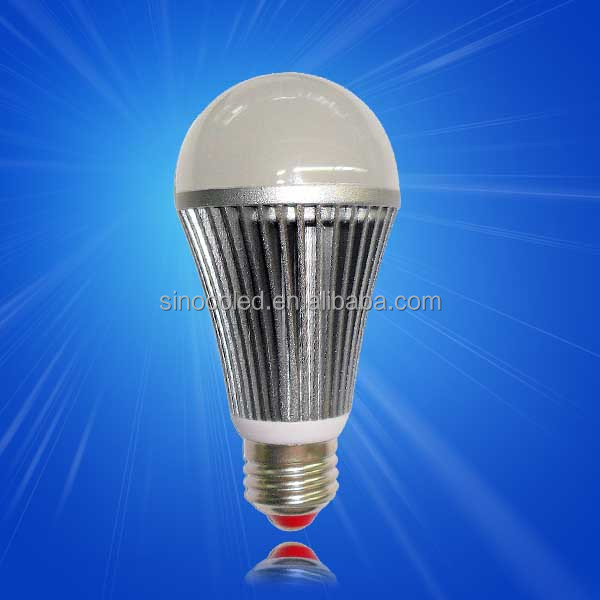 Aluminum+plastic heat sink pc cover 3w 5w 7w 9w 12w led bulb e26 e27 b22 e14 base high quality lamp