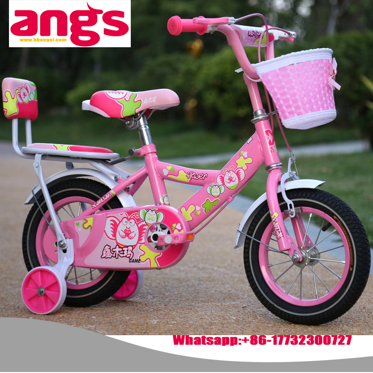 2016 New Model four Wheel Steel Frame kids bicycle children bike baby bike kids cykel, kids