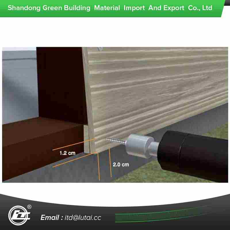 Wood Grain Cement Siding For Residential House External Wall