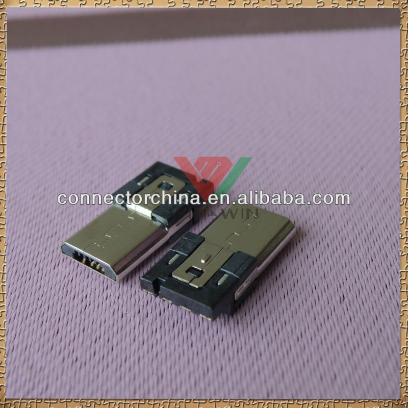 High Performance Solder Type Electrical Plug Usb computer Connector