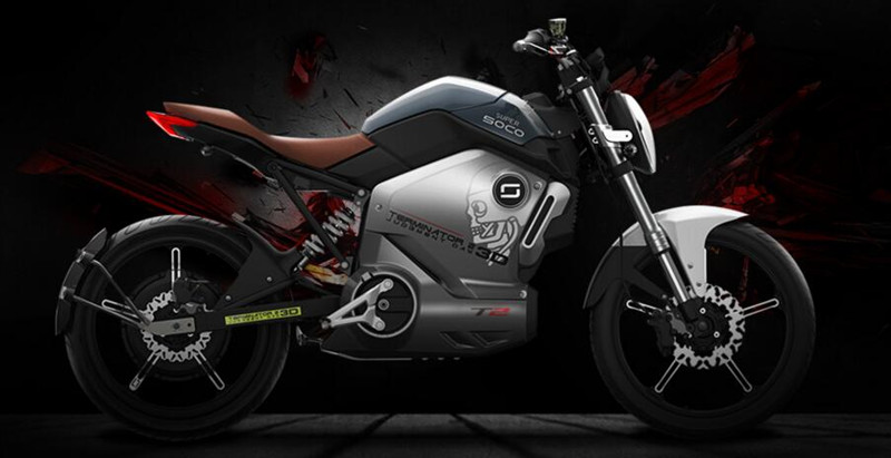 1200w 60v Soco electric motorcycle