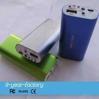 Shenzhen portable power bank 5200mah with checking money