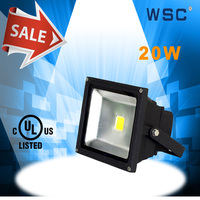 China suppliers CE UL(E4738647) listed waterproof 20 watt home use globe led flood light