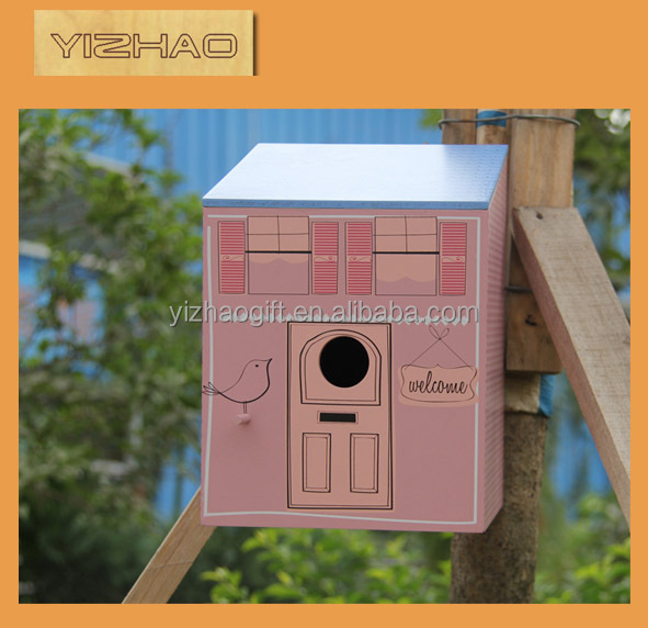 Eco-friendly FSC Hanging Wooden Bird Cage,bamboo bird cage manufacturers