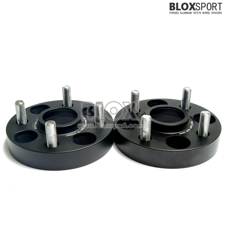 Black Anodized finished rim spacer 4x108 for fordEscort