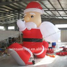 2012 Promotion Inflatable Santa Claus,Christmas Fasther,Xmas Father