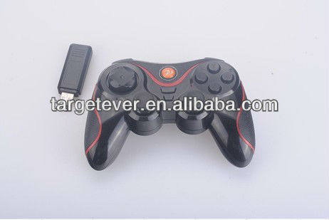 2.4G Wireless Joypad with Motion Sensor( 6 Axels ) and Built-in Rechargable Battery Game Controller, Gamepad for PS3