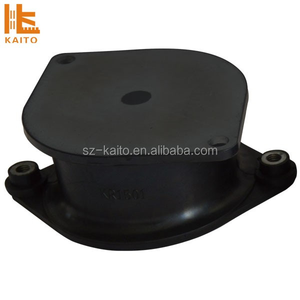 Supply high quality BW 212D compactor rubber shock absorber rubber mounting