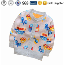 Girls Children Outerwear Kids Knitting Coat Baby Cardigan Sweater