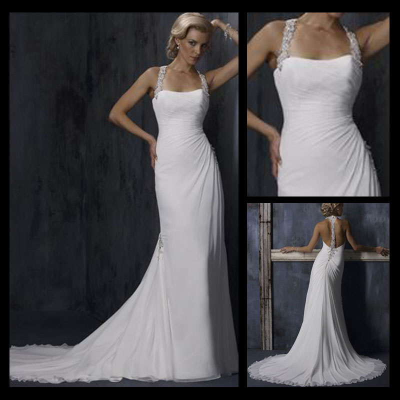Sexy Corset Two-piece Wedding Gowns Alibaba Wedding Gowns