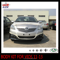 New pp plastic styling car body kit bumper for VIOS 11-13