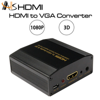 Hdmi Input Digital To Rca Analog Audio/video Composite Cvbs Output Converter Hdmi To Av Out