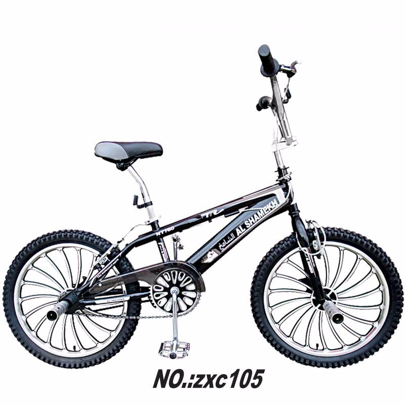 2017 best selling Good quality Mini bmx bicycle in steel frame and fork for jump/bmx bicycle 20 inch free style bmx bike