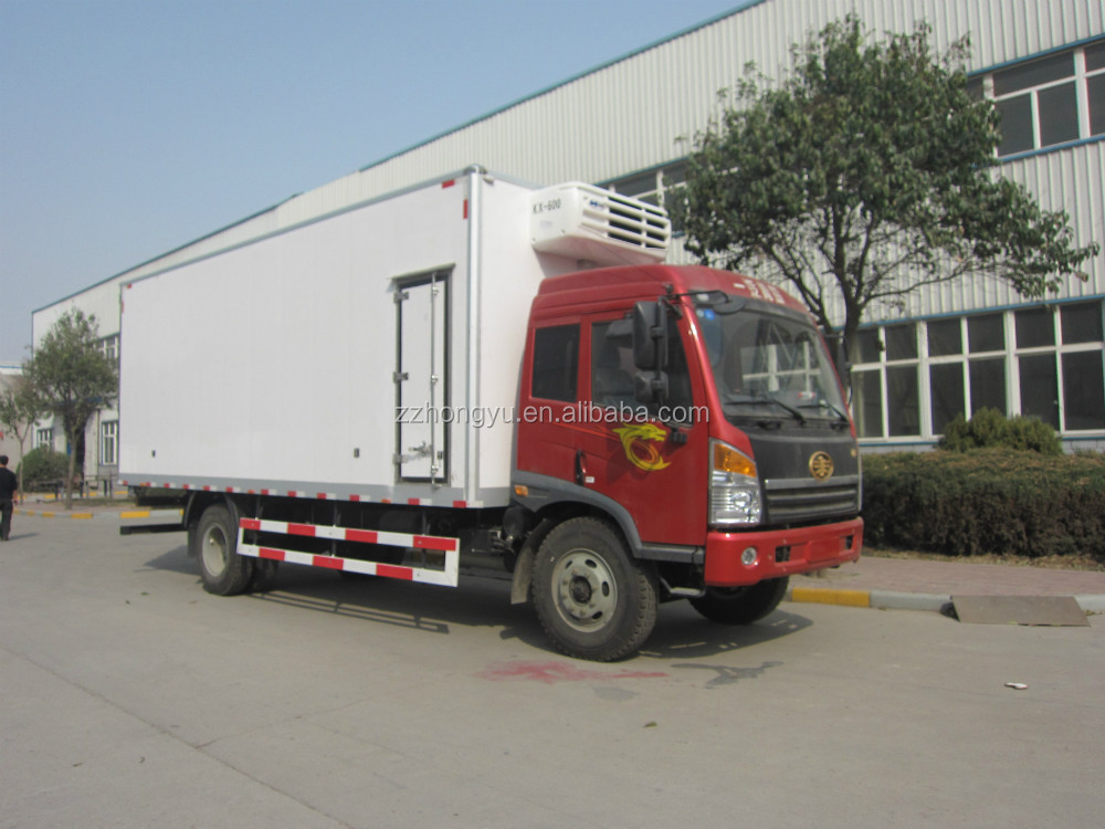 3-8tons foton /dongfeng refer trucks/refrigerated cars/commercial vehicles for sale