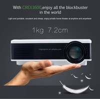 Strong and mini body design,contrast ratio 1000:1,800*480p LED projector LCD projector