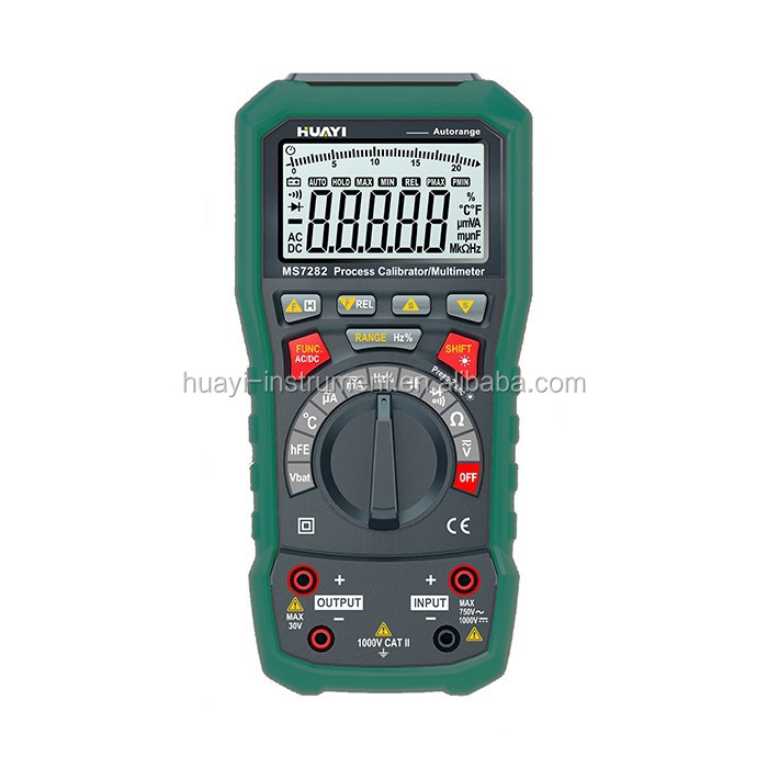 Current source 4-20mA multifunction process calibrator,new update huayi process calibrator