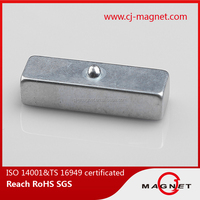 New bright sliver customed Neodymium magnet china suppliers with high strong powerful on sale