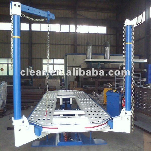 alat berat/auto body frame machine clear H-826