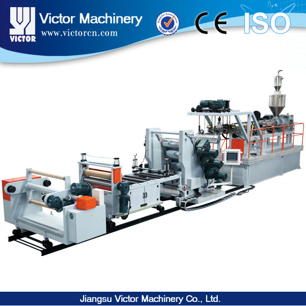 Single Screw Extruder high capacity New industry compounding line