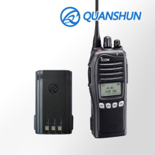 Max capacity replacement chargeable 2500mAh li-ion battery walkie talkie batteries for 100 mile walkie talkie