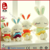 China Manufacture Different Sizes Stuffed Plush Rabbit Toys