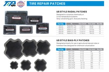 Rubber Tire Repair Cold Patches