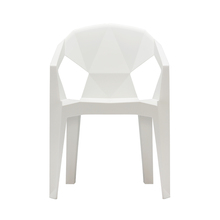modern dining white plastic chair