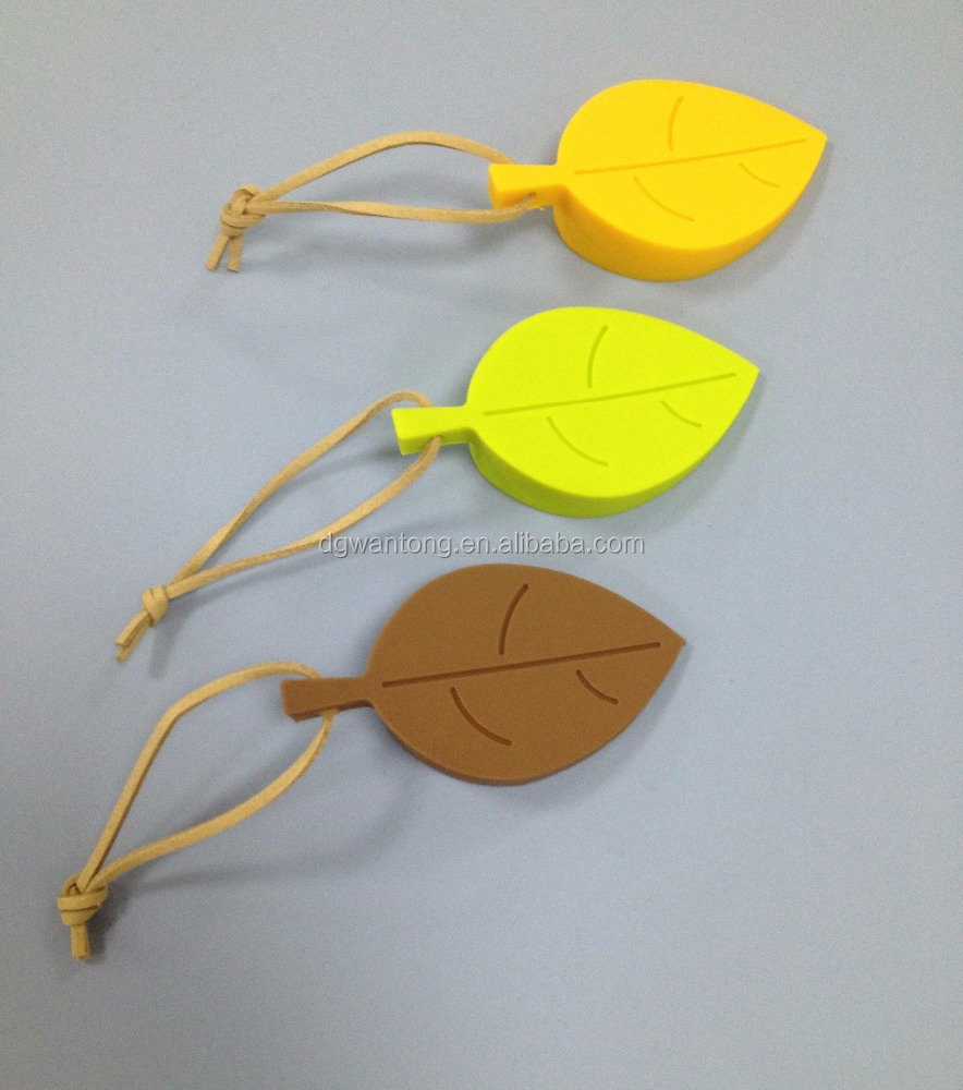 Novelty leaf shape silicone door stops
