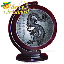 special christmas gift China dragon Artistic dark Tea cake