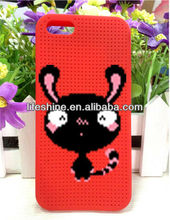 Cartoon mobile phone silicone case,animal phone case for iphone