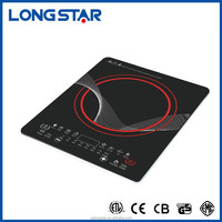 Kitchen Appliance Ultra Slim Touch crystal glass electric Induction Cooker/ cooktop induction/12v battery powered induction cook