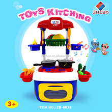 Band pulley removable kitchen set toys for kids