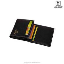 LLH unique genuine leather gift card holders and cash holder
