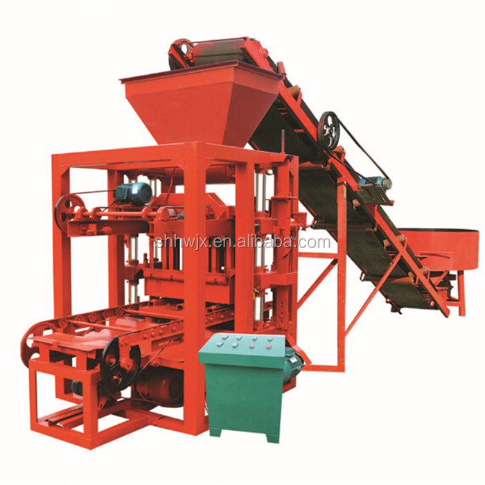 Hydraulic Manual cement brick block making machine price used clay brick making machine