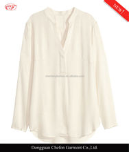 Chinese long sleeve fashion collar spring blouse