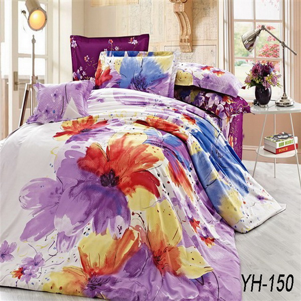 Elegant design soft and confortable touch patchwork bedsheet cotton
