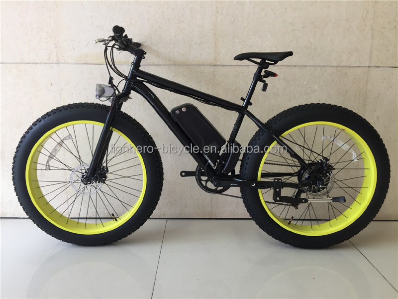 26'' 36V 250W Mountain Exercise Electric Bike Fat tyre Beach electric bike/bycicle/ebike
